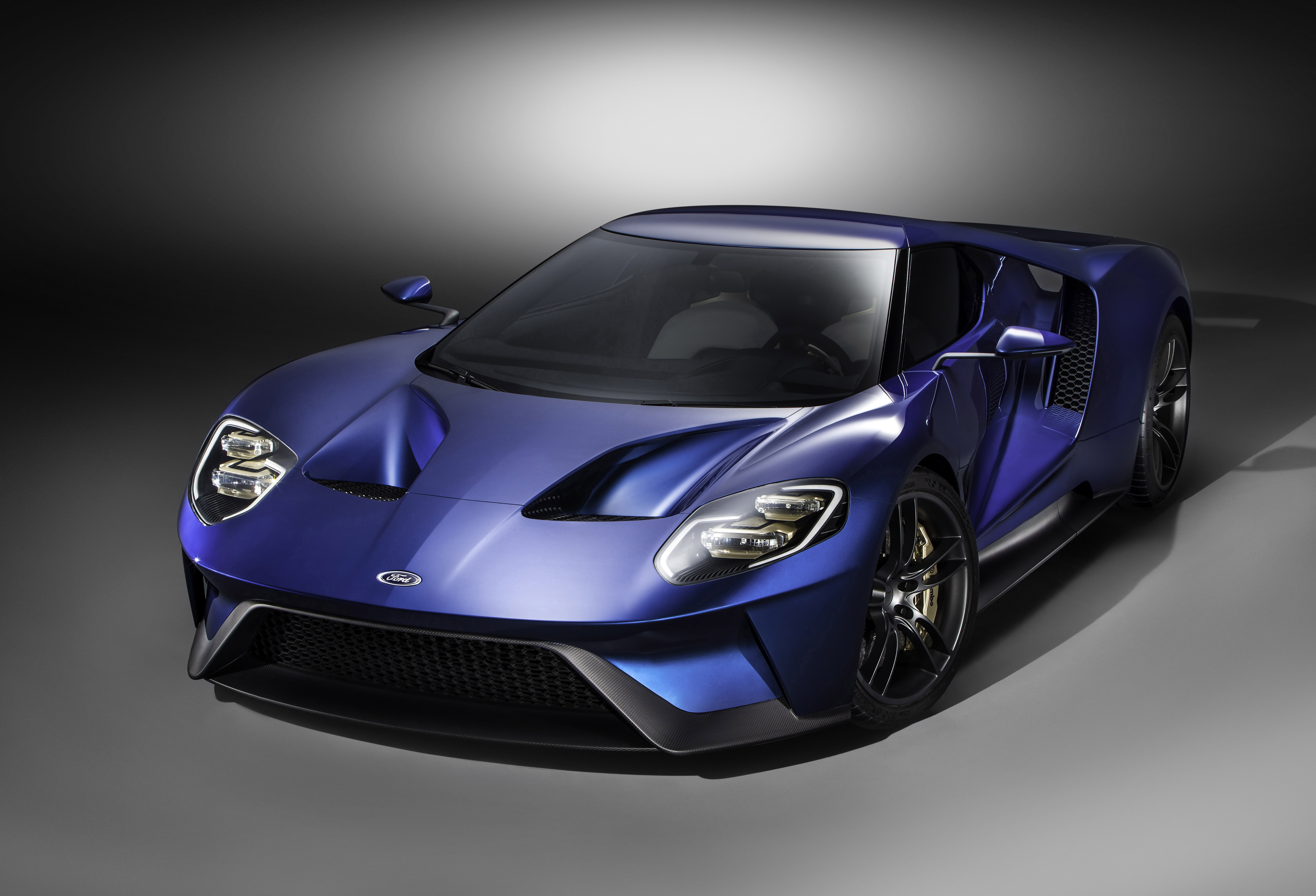 All-New Ford GT RL, 3/4 Front, January 2015