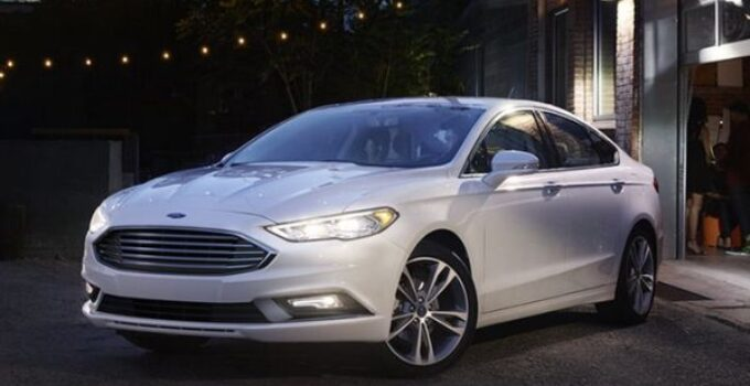 2017 Ford Fusion Price and Release date