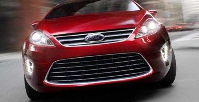 2018 Ford Verve – Sedan Concept