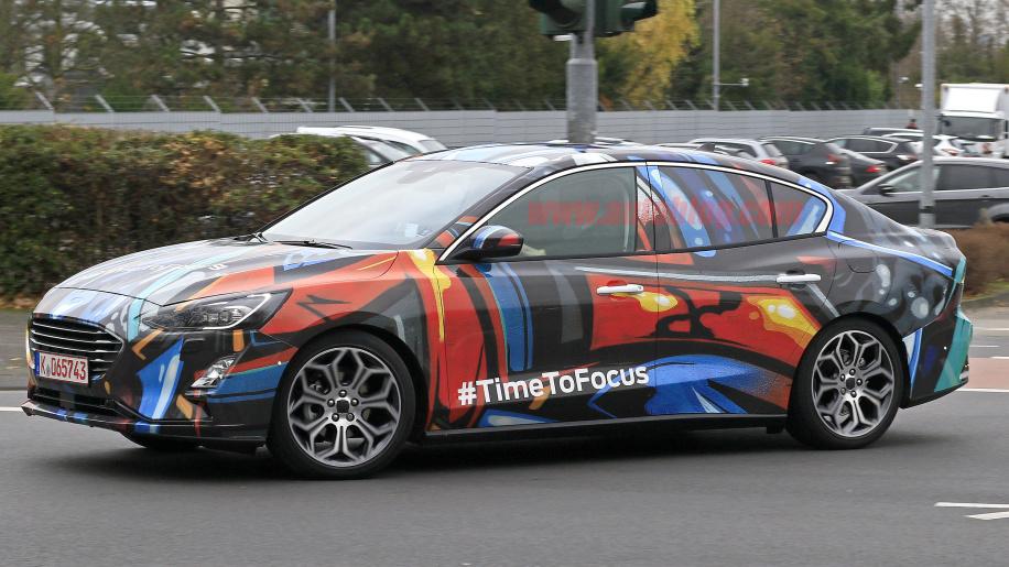 2019 Ford Focus Sedan Design